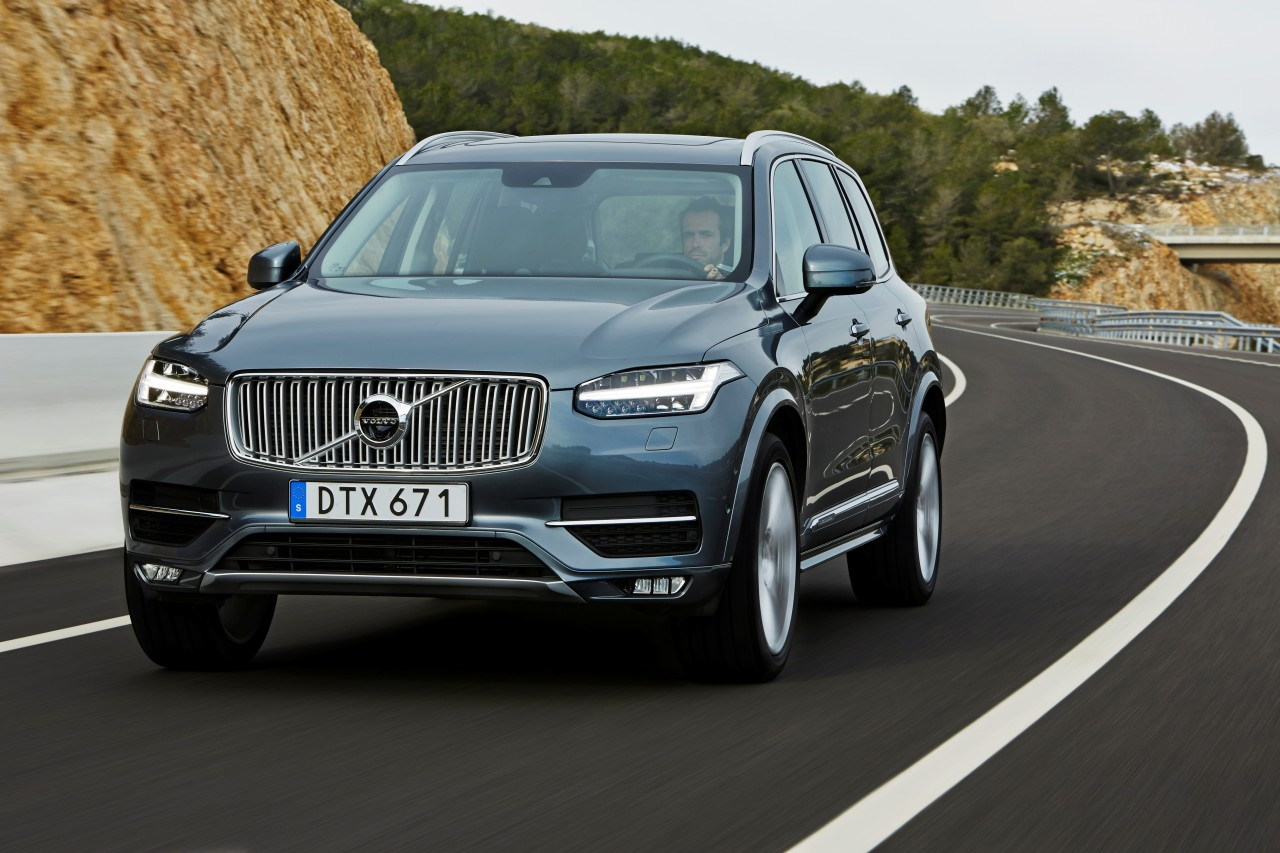 """The All New XC90"" VOLVO's new generation flagship model"