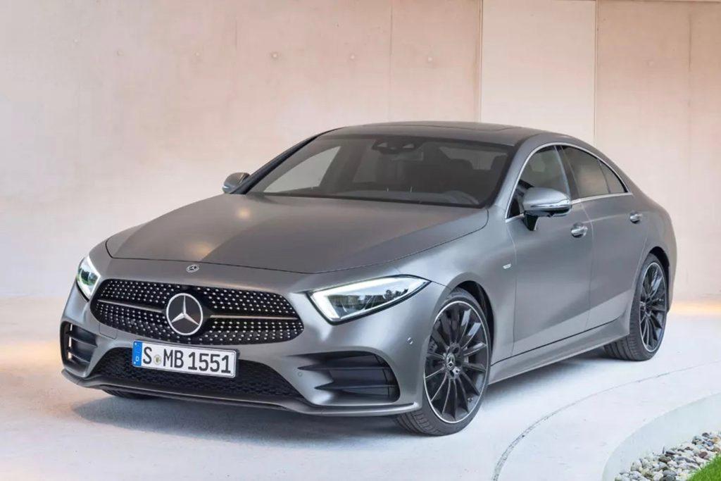 Mercedes-CLS-front-quarter-nw 2