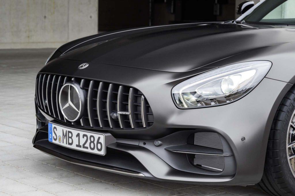 Mercedes-AMG GT C Edition 50, graphitgrau magno // Mercedes-AMG GT C Edition 50, graphite grey magno Kraftstoffverbrauch kombiniert: 11,3 l/100 km, CO2-Emissionen kombiniert: 257 g/km Fuel consumption combined: 11.3 l/100 km; Combined CO2 emissions: 257 g/km