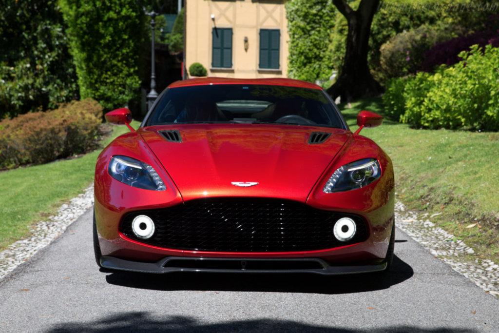 Astonmartin Vanquish Zagato Concept Visionary Tokyo Ring Of Colour - Aston martin vanquish zagato