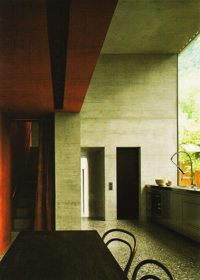 Peter Zumthor Home Studio Visionary Tokyo Ring Of Colour