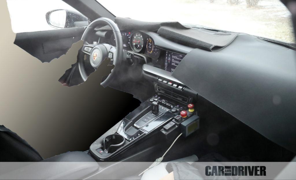 2020 Porsche 911 (spy photo)