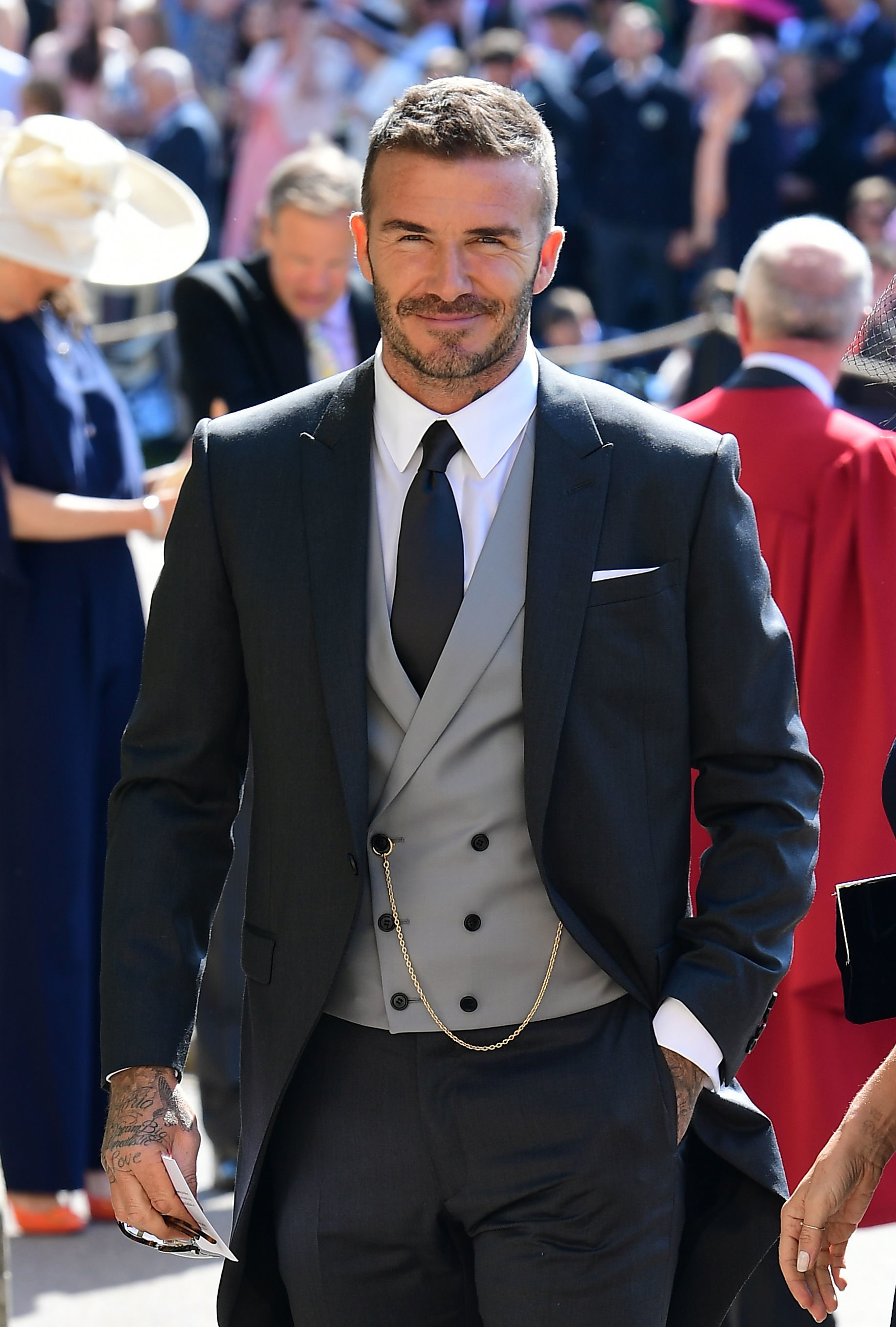 David Beckham_Royal Wedding 3