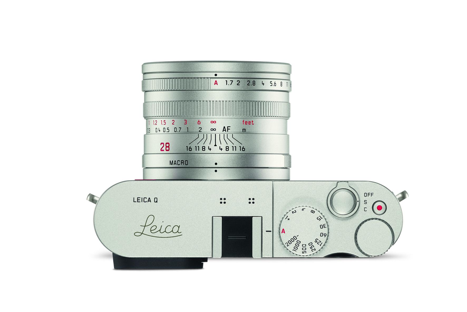 Leica Q khaki_top